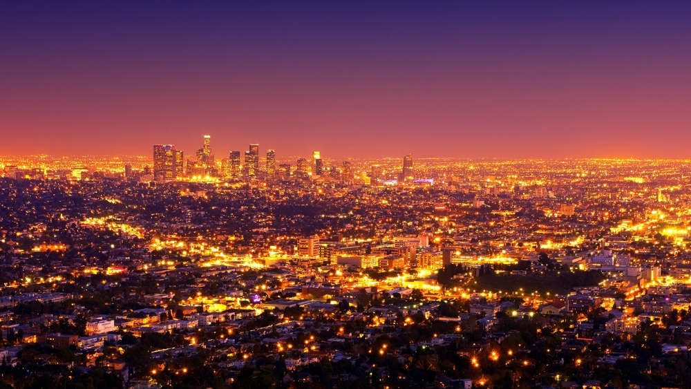 lichtvervuiling Los Angeles